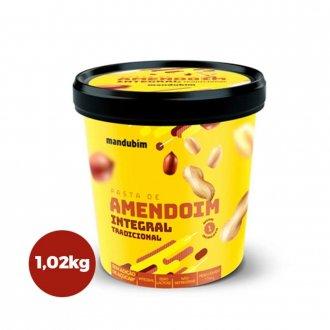 Imagem - Pasta de Amendoim Integral (1,02kg) - Mandubim cód: 335