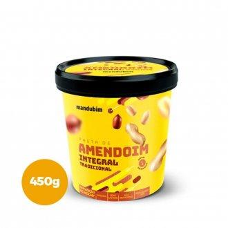 Imagem - Pasta de Amendoim Integral (450g) - Mandubim - 328