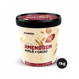 Imagem - Pasta de Amendoim Integral com Avelã e Cacau (1,02kg) - Mandubim cód: 330