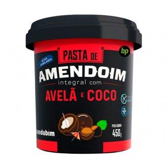 Imagem - Pasta de Amendoim Integral com Avelã e Coco (450g) - Mandubim cód: 329