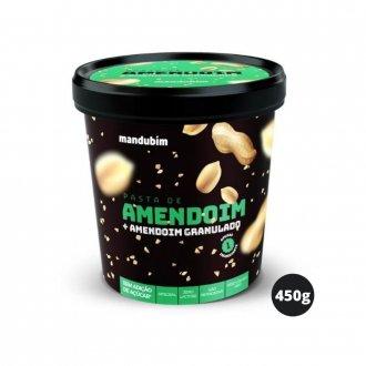 Imagem - Pasta de Amendoim Integral com Granulado (450g) - Mandubim cód: 334