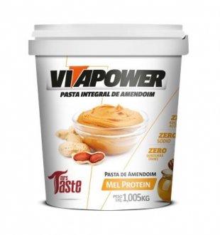 Imagem - Pasta de Amendoim Mel Protein (1kg) - Vitapower cód: 784