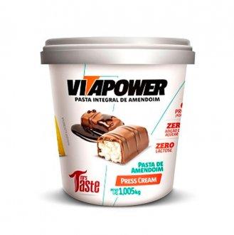 Imagem - Pasta de Amendoim Press Cream (1kg) - Vitapower cód: 582