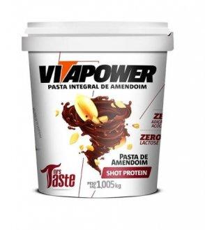 Imagem - Pasta de Amendoim Shot Protein (1kg) - Vitapower cód: 785