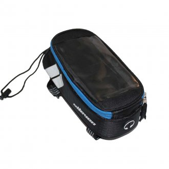 Imagem - Bolsa Quadro Phone Bag Bike (Preto/Azul) - Elleven cód: 619