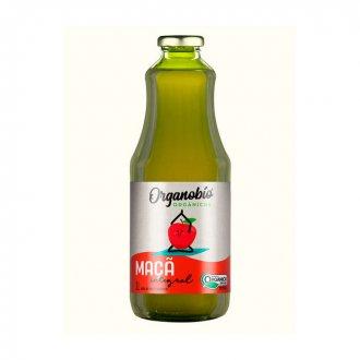 Imagem - Suco de Maça Integral Orgânico (1 litro) - Organobio cód: 1099
