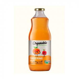 Imagem - Suco Misto de Tangerina e Maça Integral Orgânico (1 litro) - Organobio cód: 1098