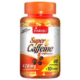 Imagem - Super Caffeine 420mg (60+10caps) - Tiaraju cód: 685