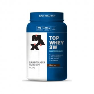 Imagem - Top Whey 3W Mais Performance (900g) - Max Titanium cód: 1180