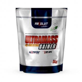 Imagem - Ultra Mass Gainer com Creatina (3kg) - Absolut Nutrition cód: 1301