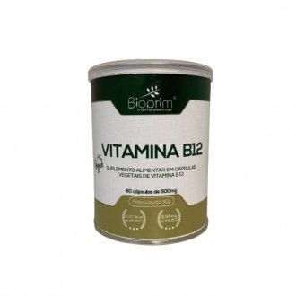 Imagem - Vitamina B12 500mg (60caps) - Bioprim cód: 1317
