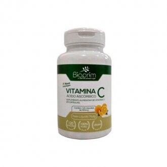 Imagem - Vitamina C 500mg (60caps) - Bioprim cód: 1065