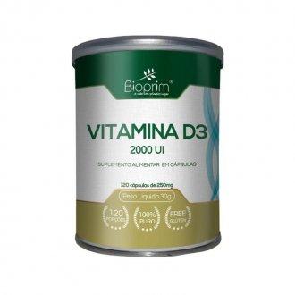 Imagem - Vitamina D3 2000UI (120caps) - Bioprim cód: 1064