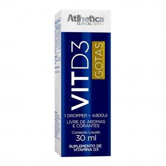 Imagem - Vitamina D3 (60ml) - Atlhetica Nutrition cód: 463