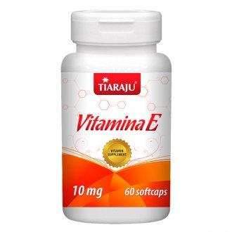 Imagem - Vitamina E (60caps) 10mg - Tiaraju cód: 359