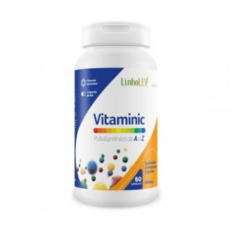 Imagem - Vitaminic Polivitamínico A-Z (60caps) - Linholev cód: 1136