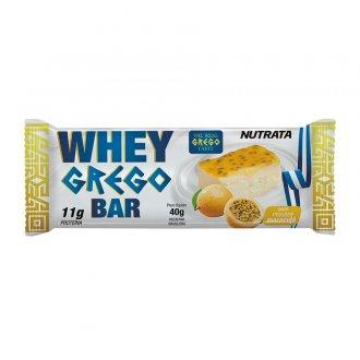 Imagem - Whey Grego Bar (40g) - Nutrata cód: 399