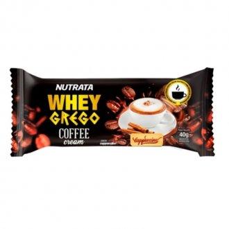 Imagem - Whey Grego Bar Coffee Cream (40g) - Nutrata cód: 1312