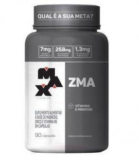 Imagem - ZMA (90caps) - Max Titanium cód: 1275