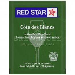 Imagem - FERMENTO RED STAR COTE DES BLANCS cód: 001437