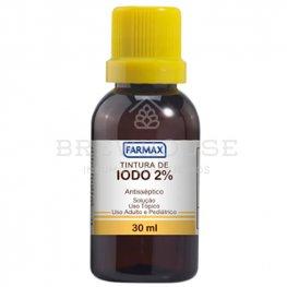 Imagem - IODO TINTURA 2% cód: 001534
