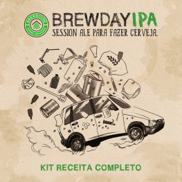 Imagem - Kit Receita Brewday Ipa cód: 002300