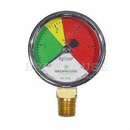 Imagem - Manômetro baixa pressão 0-5 kg/cm cód: 000627
