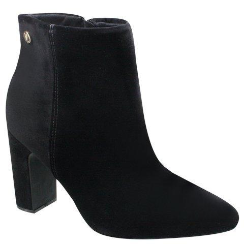 df02db391 Bota Feminina Vizzano Ankle Boot Cano Curto Nobuck 3068100 3068100 ...