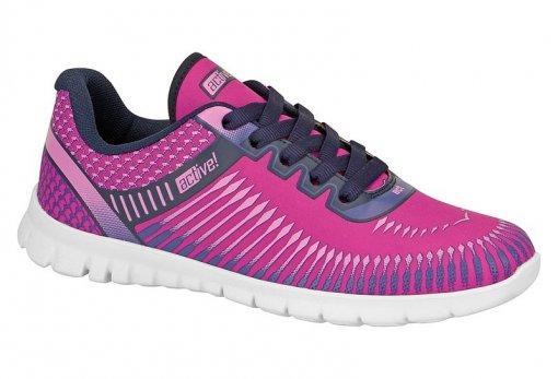 a2c5b466008 Tênis Feminino Esportivo Beira Rio Pink Active! 4206106 4206106 ...