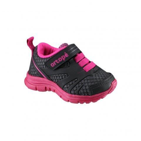 5d641eacf33 Tênis Ortopé Infantil Menina Preto E Pink DNA Flex 292090 292090 ...
