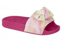 Imagem - Slide Infantil Feminino Molekinha Tecido Tie Dye 2311103 - 331002303