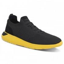 Imagem - Tênis Sneaker Masculino Ferracini Elektra Amarelo 9248-572h - 331002015