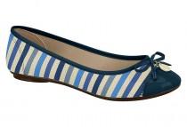 Imagem - Sapatilha Feminina Moleca Tecido Azul Marinho 5196362 - 331001750