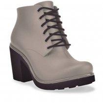 Imagem - Bota Ankle Boot Feminina Boa Onda Ale Capuccino 1608-105 - 3897610