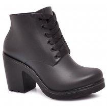 Imagem - Bota Ankle Boot Feminina Boa Onda Ale Preta 1608-105 - 3897609
