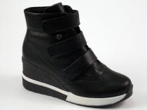 b6928df07 Bota Sneaker Feminina Quiz Flatform Napa Preta 67-37928