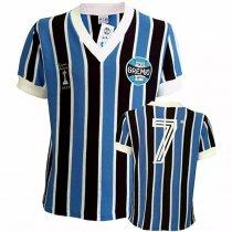Imagem - Camiseta Feminina Retro Grêmio Baby Look 1983 Renato 7 - 526861