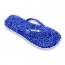 Imagem - Chinelo Feminino Cleanup Massageador E Esfoliante Azul FS108 - 351478