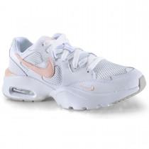Imagem - Tênis Nike Feminino Air Max Fusion Branco e Rosa - 331001756