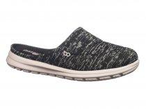 Imagem - Sapato Mule Feminino Boaonda Fresh Riscado Preto 1721-101 - 530625