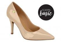 Imagem - Sapato Scarpin Feminino Vizzano Bico Fino Bege 1324100 - 31001270