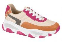 Imagem - Tênis Feminino Sneaker Robusto Napa Creme Vizzano 1343202 - 331000686