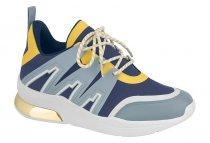 Imagem - Tênis Feminino Sneaker Vizzano Flatform Chunky Azul 1304108 - 1000422