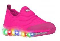 Imagem - Tênis Infantil Bibi Roller Celebration Rosa Pink Led 1079072 - 331000977