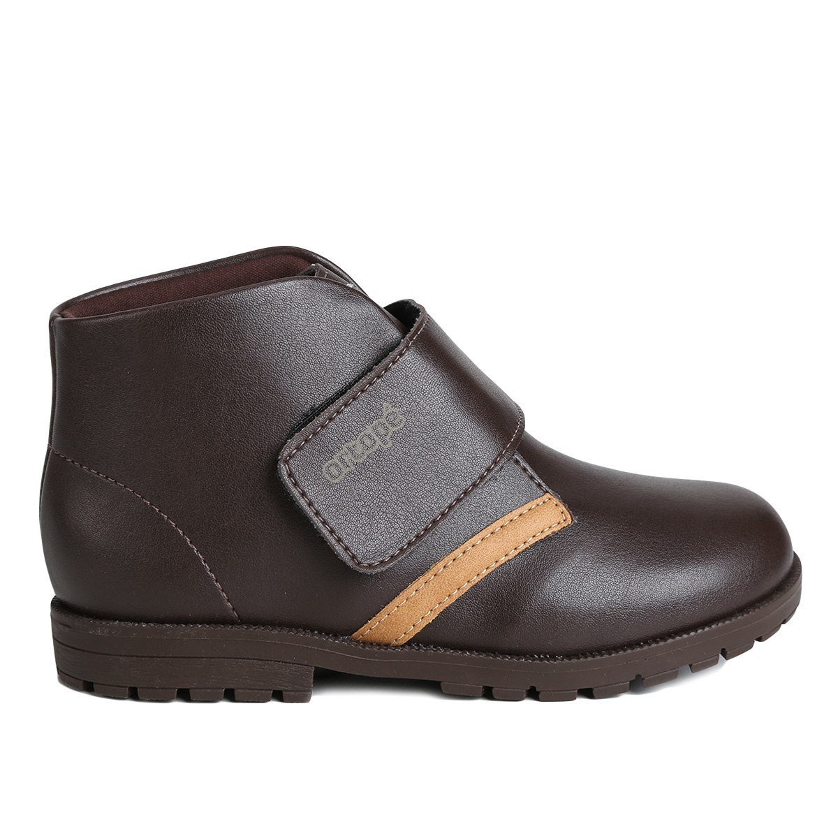 767dfc026 Bota Coturno Ortopé Infantil Menino Baby Boot Café 2119078 2119078 ...