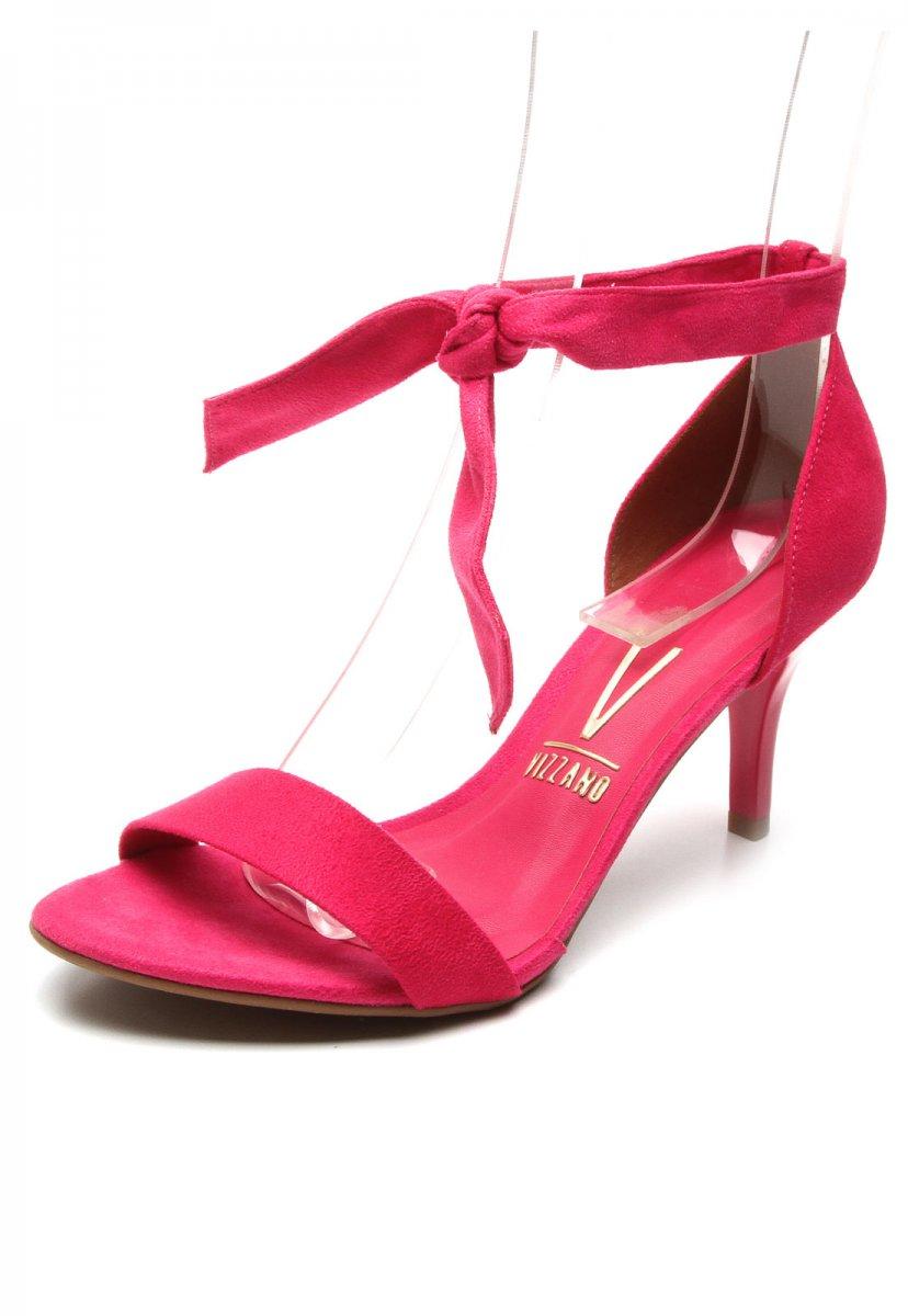 05b4ad578 Sandália Feminina Vizzano Salto Fino Pink 6276222 6276222 - Pink ...