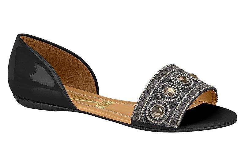 4eb57ba1b4 Sandalia rasteira feminina vizzano verniz preto e af cde jpg 800x545 Vizzano  sandalia rasteira feminina