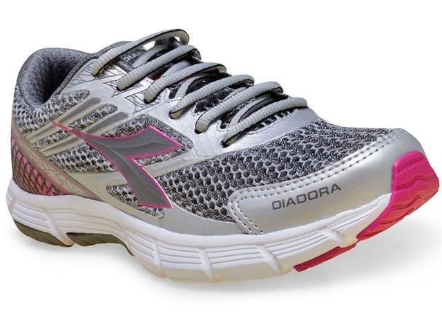 959f96cd50 Tênis Feminino Diadora Speed Prata 125510 125510 - Prata - Calçado Web