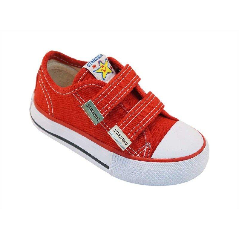 f877b1d218c Tênis Infantil Starzinho com Velcro S071 Vermelho SS071 - Vermelho ...