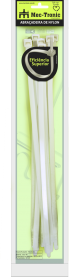 Imagem - Abraçadeira de Nylon 12,7x540mm Natural 10 Unidades Ref 92024 - Mec Tronic cód: 128703